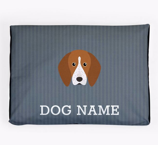 Personalised Dog Bed for your English Coonhound