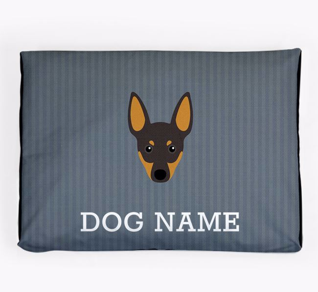 Personalised Dog Bed for your English Toy Terrier