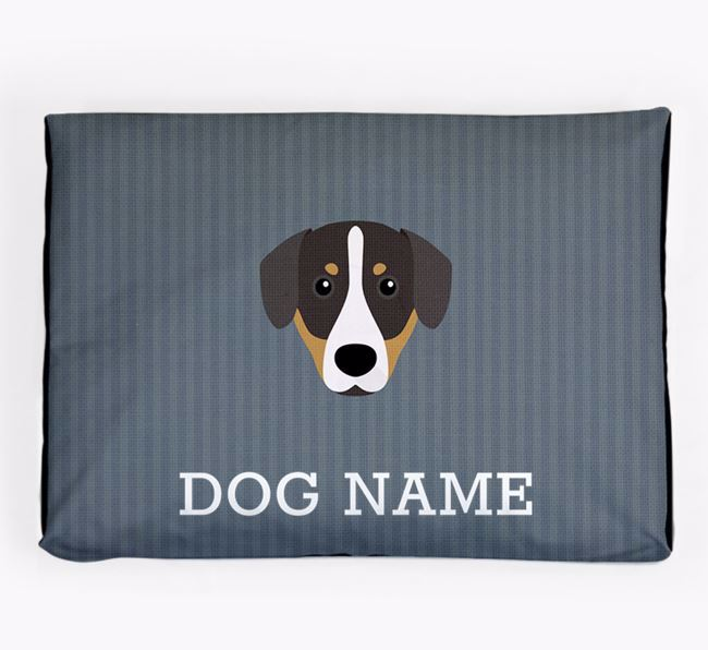 Personalised Dog Bed for your Entlebucher Mountain Dog