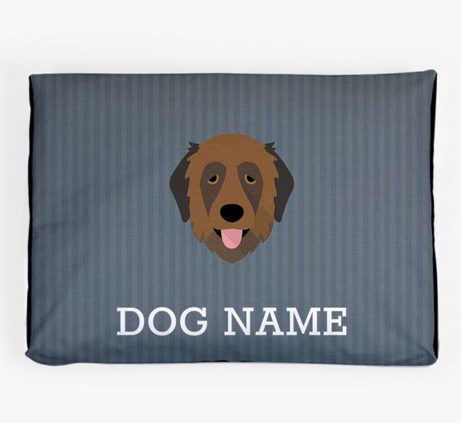Personalised Dog Bed for your Estrela Mountain Dog