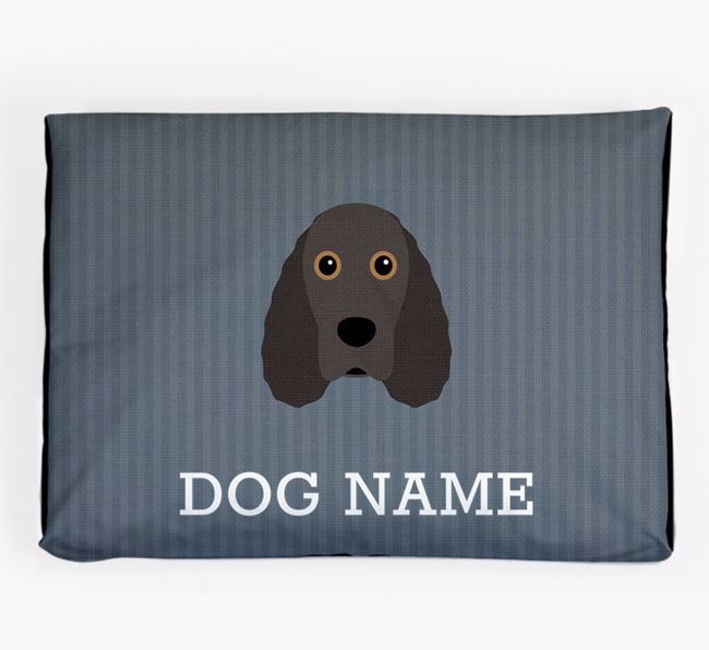 Personalised Dog Bed for your Field Spaniel