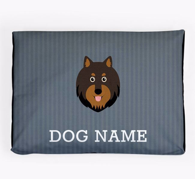 Personalised Dog Bed for your Finnish Lapphund