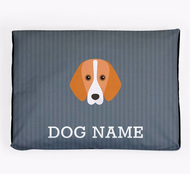 Personalised Dog Bed for your Foxhound