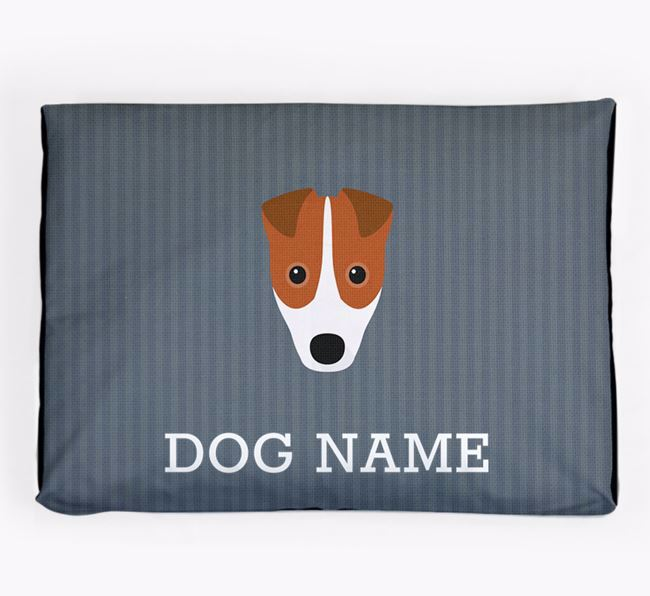 Personalised Dog Bed for your Fox Terrier