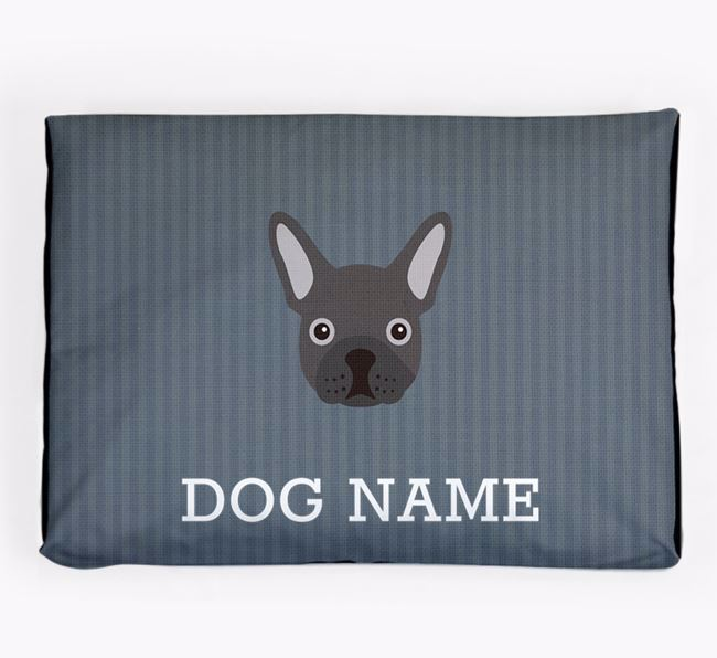 Personalised Dog Bed for your French Bulldog