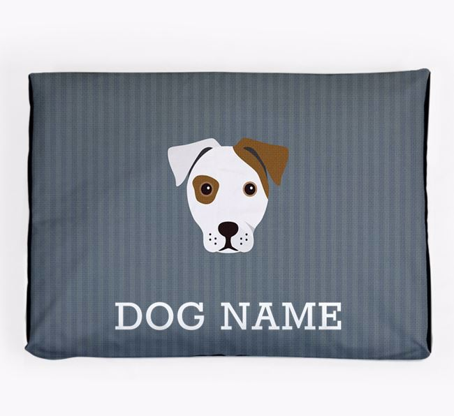 Personalised Dog Bed for your French Bull Jack