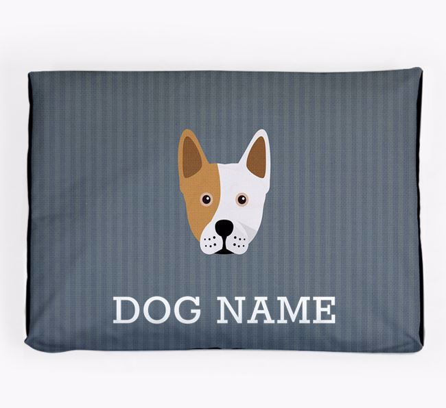 Personalised Dog Bed for your Frenchie Staff