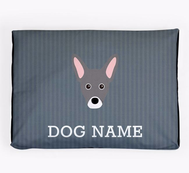 Personalised Dog Bed for your French Pin