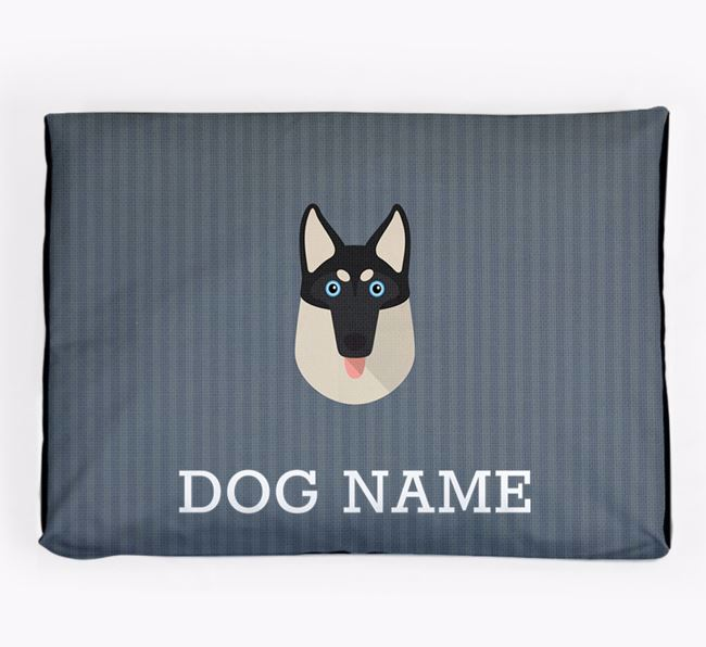 Personalised Dog Bed for your Gerberian Shepsky