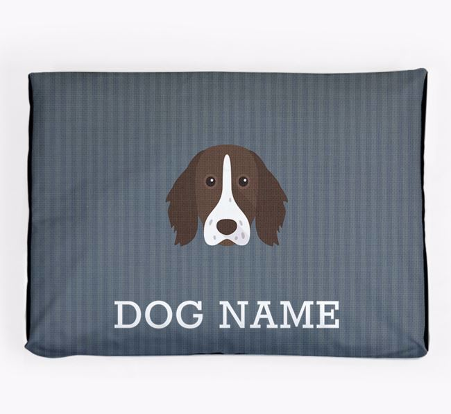 Personalised Dog Bed for your German Longhaired Pointer