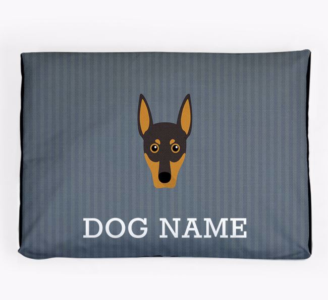 Personalised Dog Bed for your German Pinscher