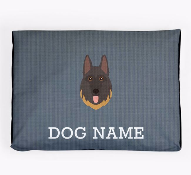 Personalised Dog Bed for your German Shepherd
