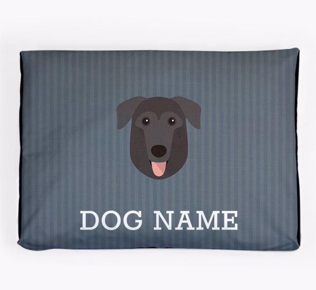 Personalised Dog Bed for your German Sheprador