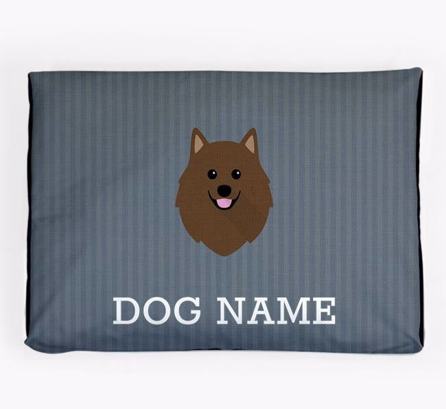 Personalised Dog Bed for your German Spitz