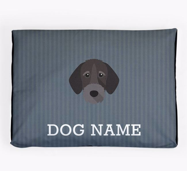 Personalised Dog Bed for your German Wirehaired Pointer