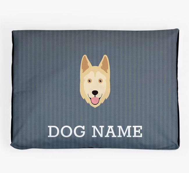 Personalised Dog Bed for your Goberian