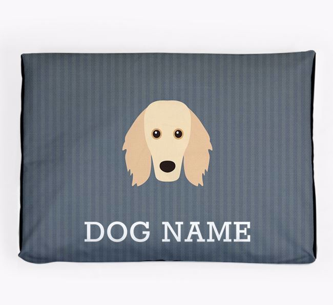 Personalised Dog Bed for your Golden Dox