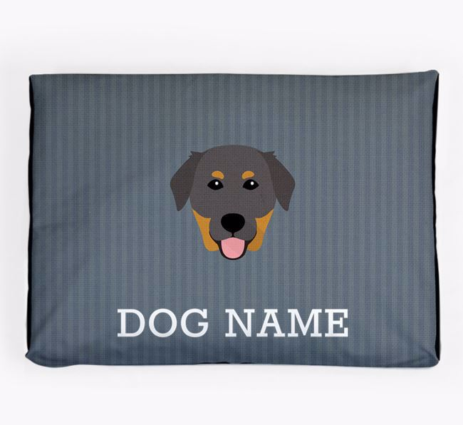 Personalised Dog Bed for your Golden Labrador