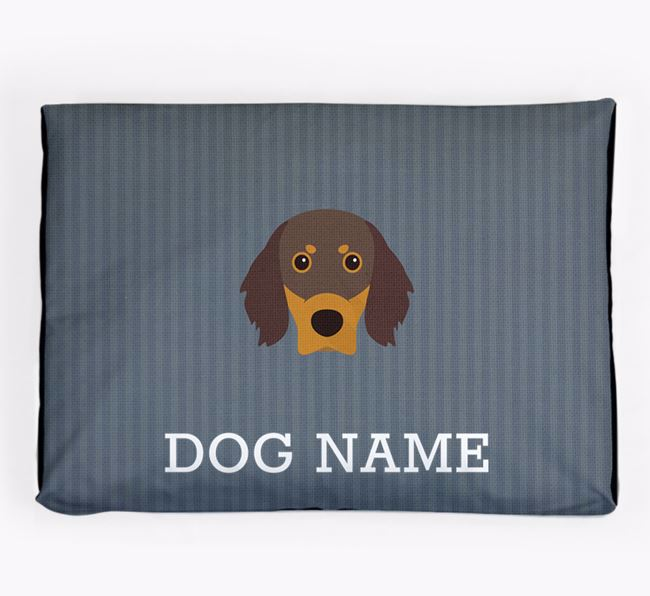 Personalised Dog Bed for your Gordon Setter