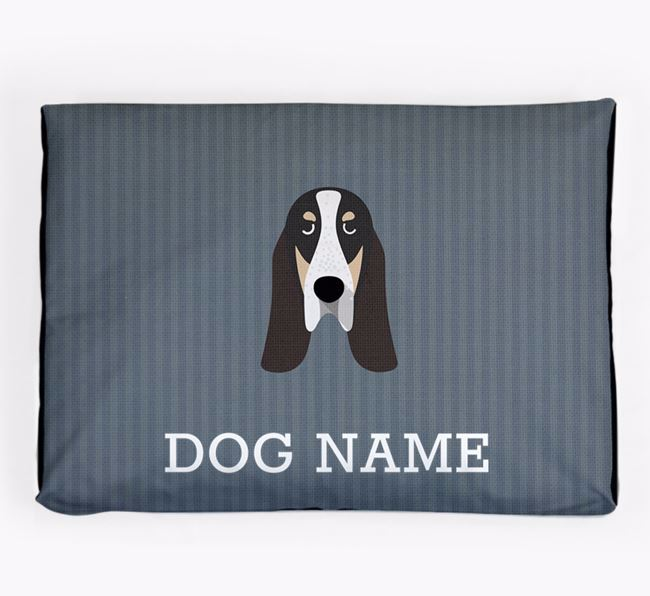 Personalised Dog Bed for your Grand Bleu De Gascogne