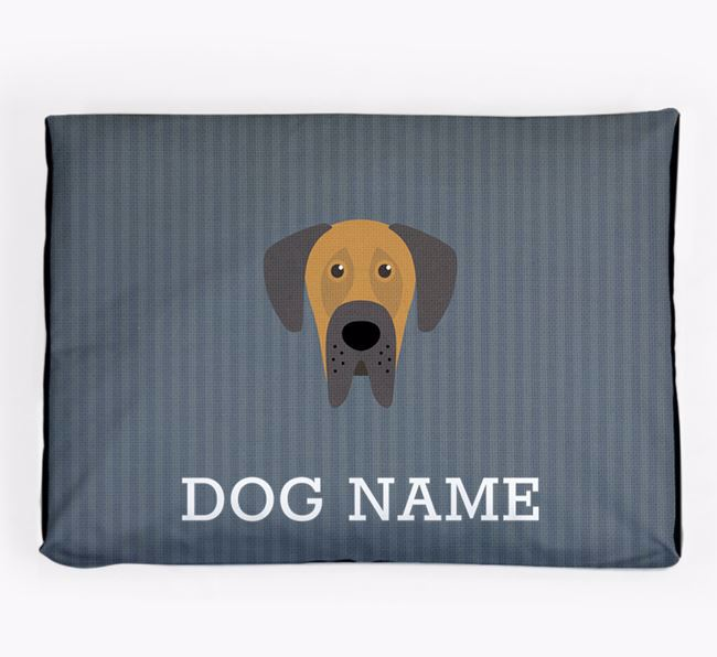 Personalised Dog Bed for your Great Dane