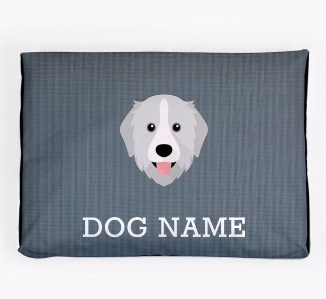 Personalised Dog Bed for your Great Pyrenees