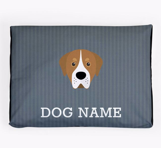 Personalised Dog Bed for your Greater Swiss Mountain Dog