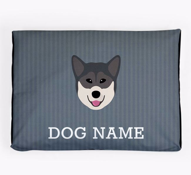 Personalised Dog Bed for your Greenland Dog