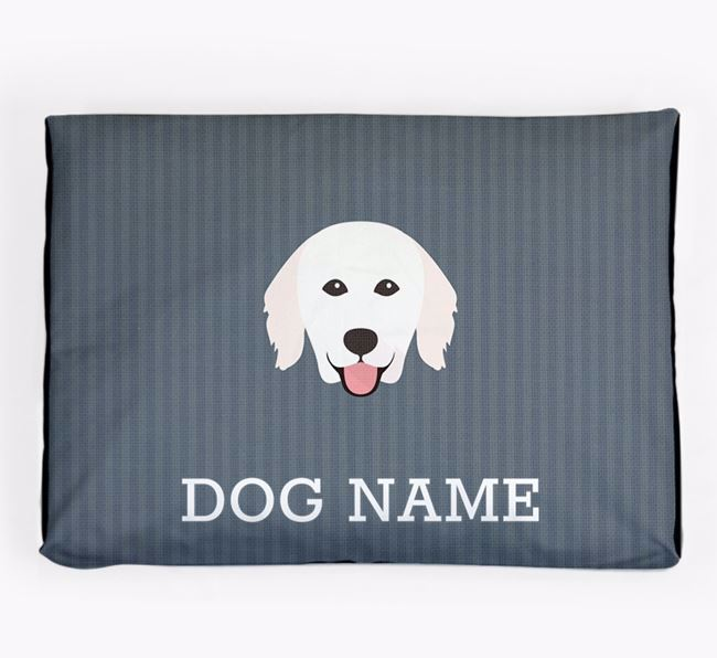 Personalised Dog Bed for your Hungarian Kuvasz
