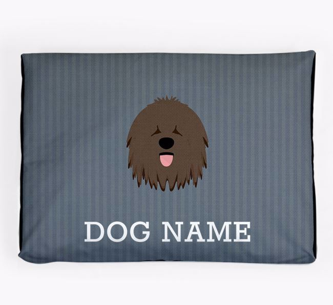 Personalised Dog Bed for your Hungarian Puli