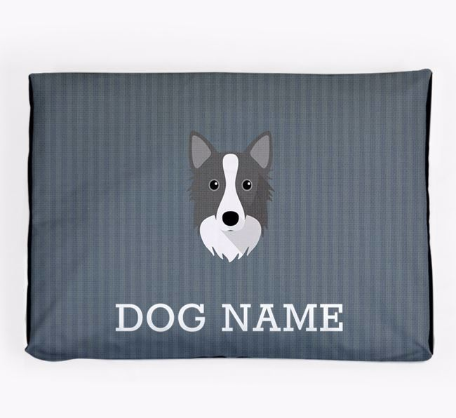 Personalised Dog Bed for your Icelandic Sheepdog