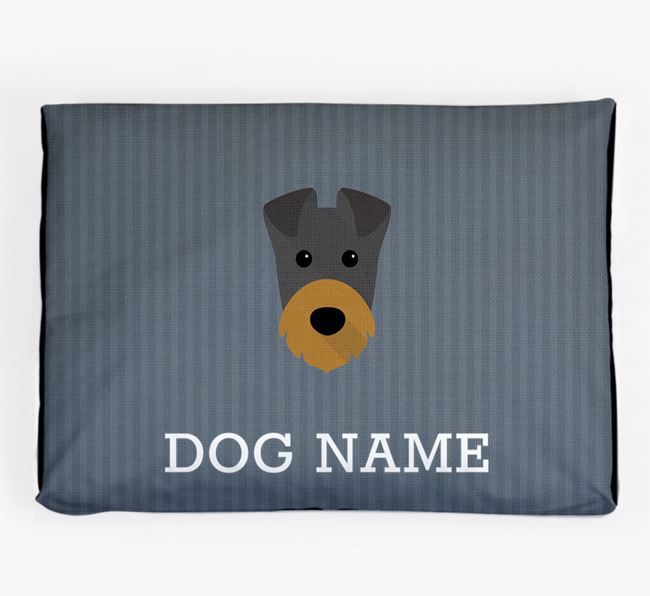 Personalised Dog Bed for your Irish Terrier