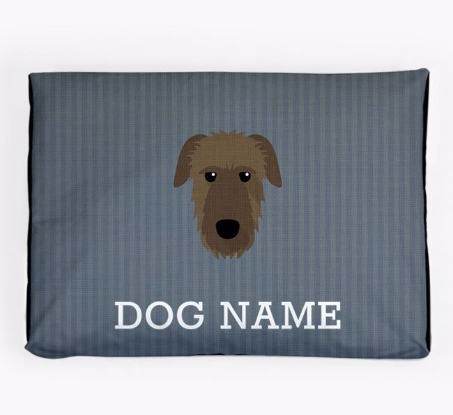 Personalised Dog Bed for your Irish Wolfhound