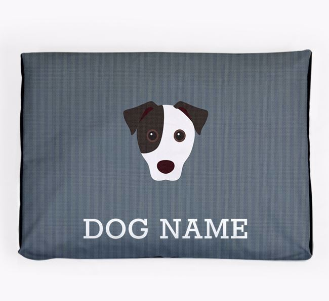 Personalised Dog Bed for your Jack Russell Terrier
