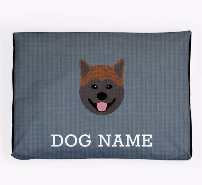 Personalised Dog Bed for your Japanese Akita