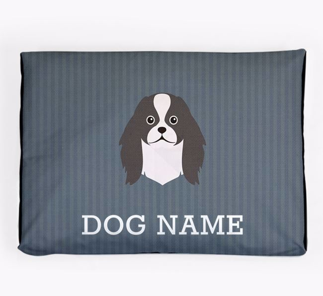 Personalised Dog Bed for your Japanese Chin