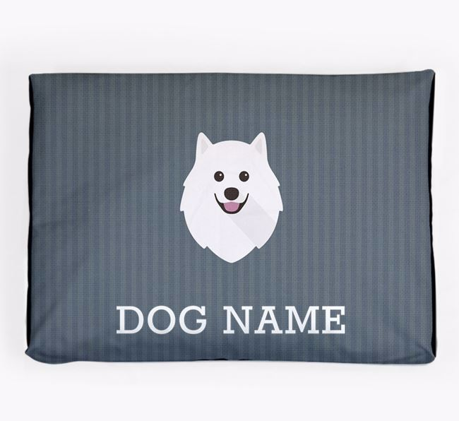 Personalised Dog Bed for your Japanese Spitz