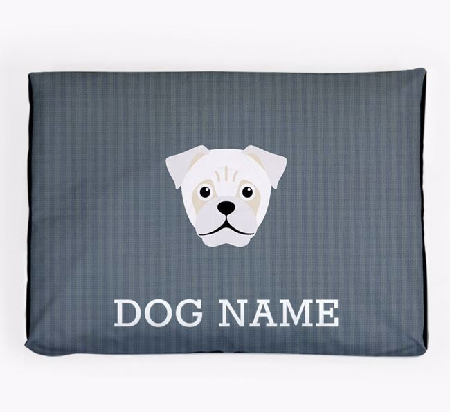 Personalised Dog Bed for your Jug
