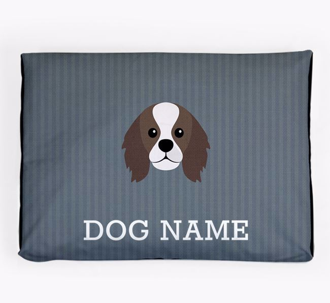 Personalised Dog Bed for your King Charles Spaniel