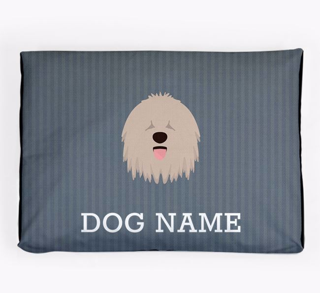 Personalised Dog Bed for your Komondor