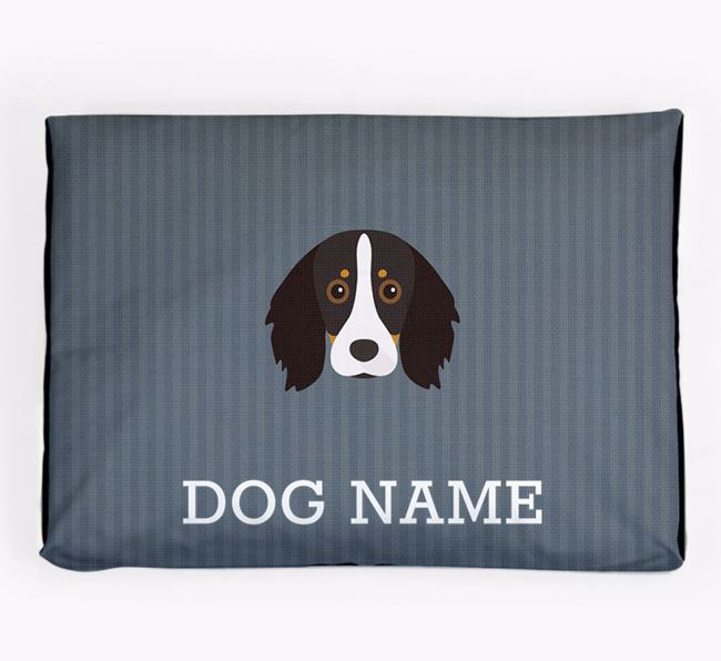 Personalised Dog Bed for your Kooikerhondje
