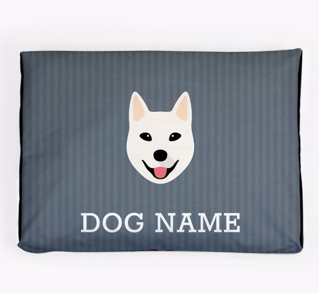 Personalised Dog Bed for your Korean Jindo