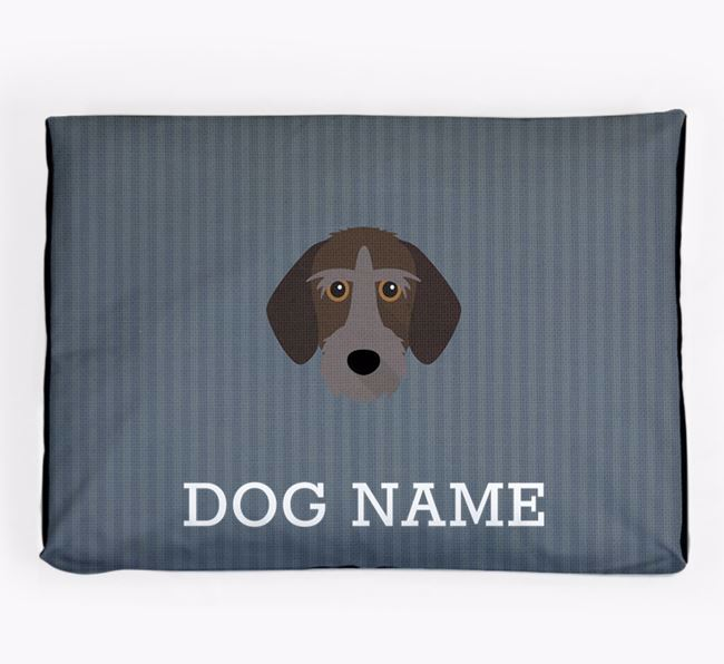 Personalised Dog Bed for your Korthals Griffon