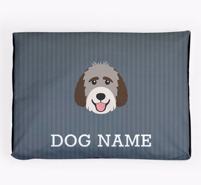 Personalised Dog Bed for your Labradoodle