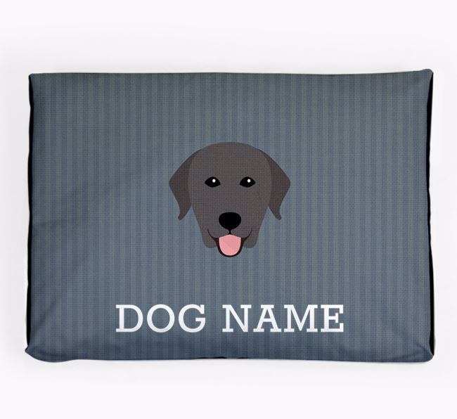 Personalised Dog Bed for your Labrador Retriever
