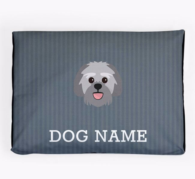 Personalised Dog Bed for your Lachon