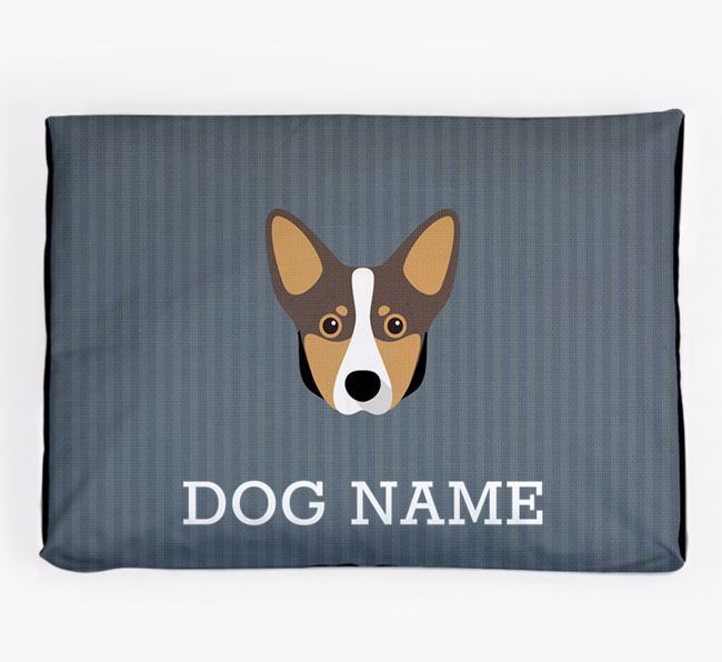 Personalised Dog Bed for your Lancashire Heeler