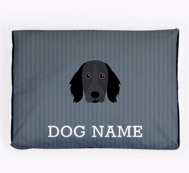 Personalised Dog Bed for your Large Munsterlander