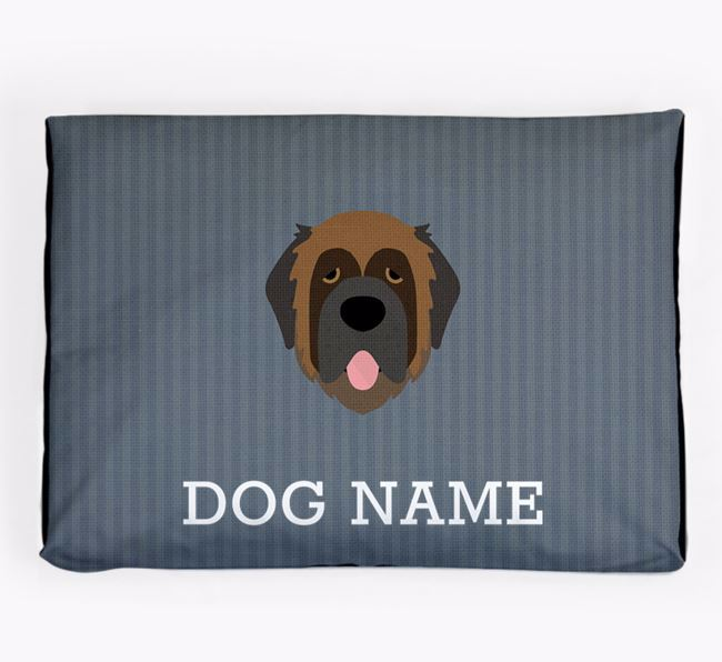 Personalised Dog Bed for your Leonberger