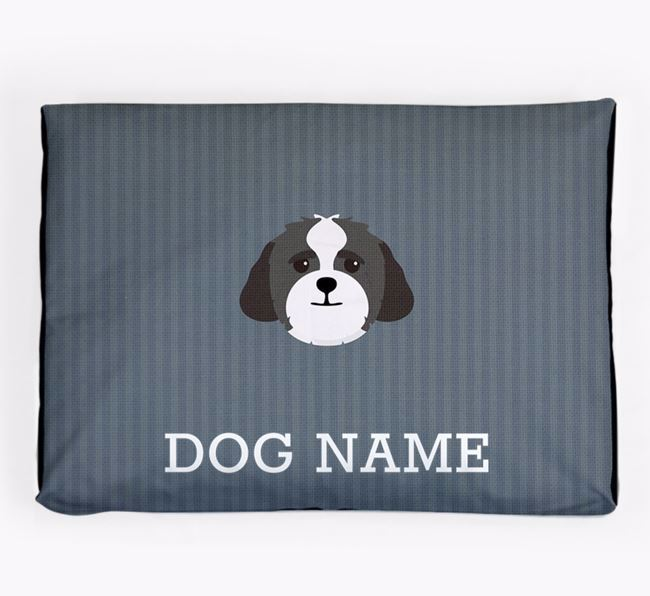 Personalised Dog Bed for your Lhasapoo